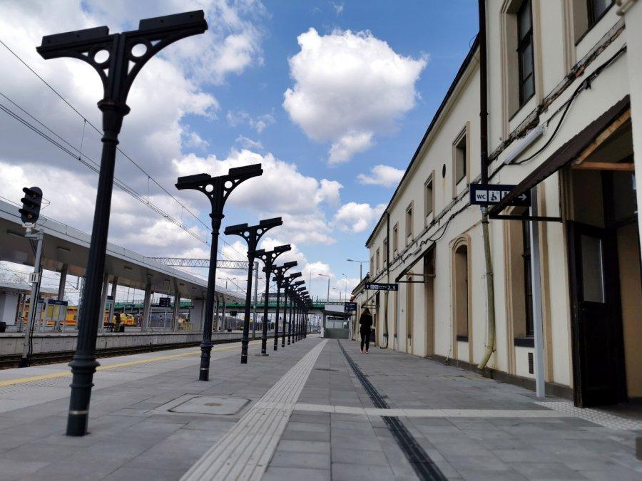 Tak teraz wygląda przebudowywana stacja PKP (WIDEO, ZDJĘCIA)