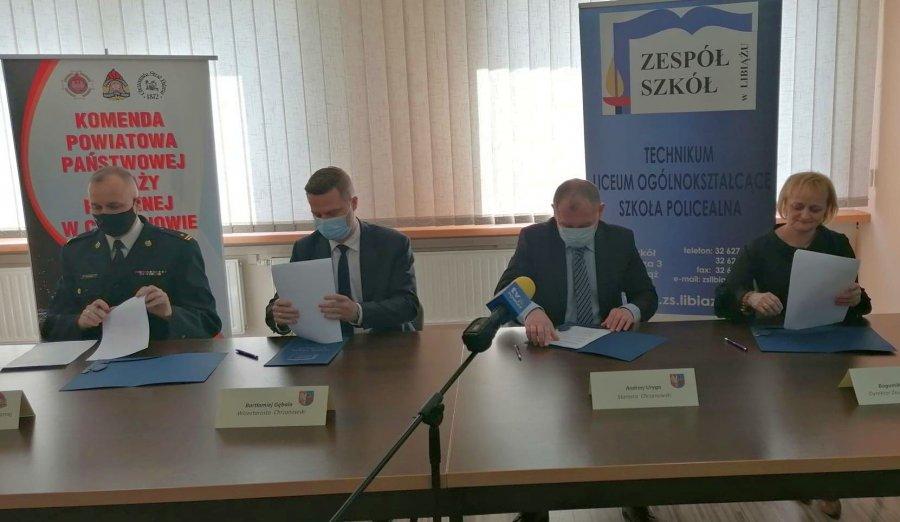Uczniowie ZS w Libiążu mogą wybrać specjalność strażacko-ratowniczą