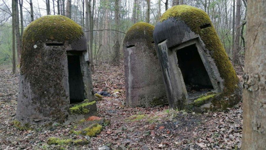Plenerowa wystawa poniemieckich schronów przyciąga miłośników historii (WIDEO, ZDJĘCIA)