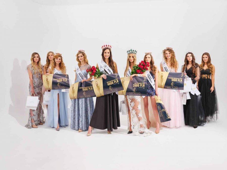 Trzy piękne chrzanowianki w finale Konkursu Miss i Miss Nastolatek Małopolski (ZDJĘCIA)