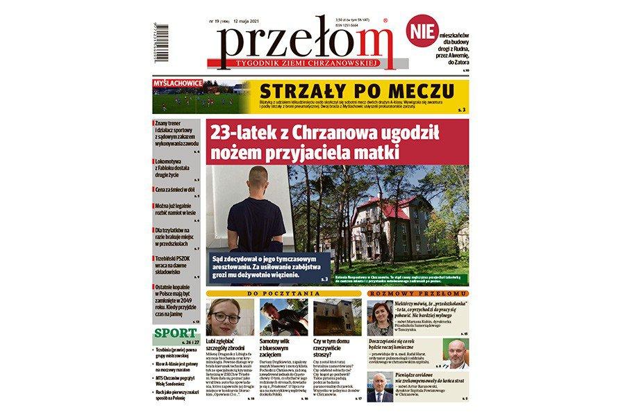 """W środę nowy, 19. w 2021 roku numer """"Przełomu"""""""