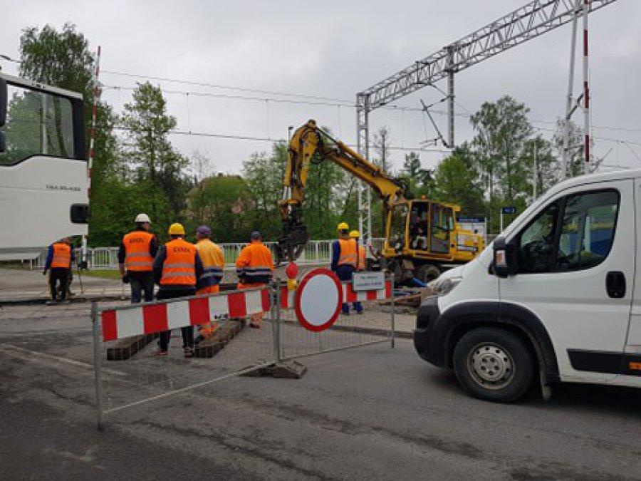 Zamknięty przejazd w Chełmku. Tak będzie przez kilkanaście dni
