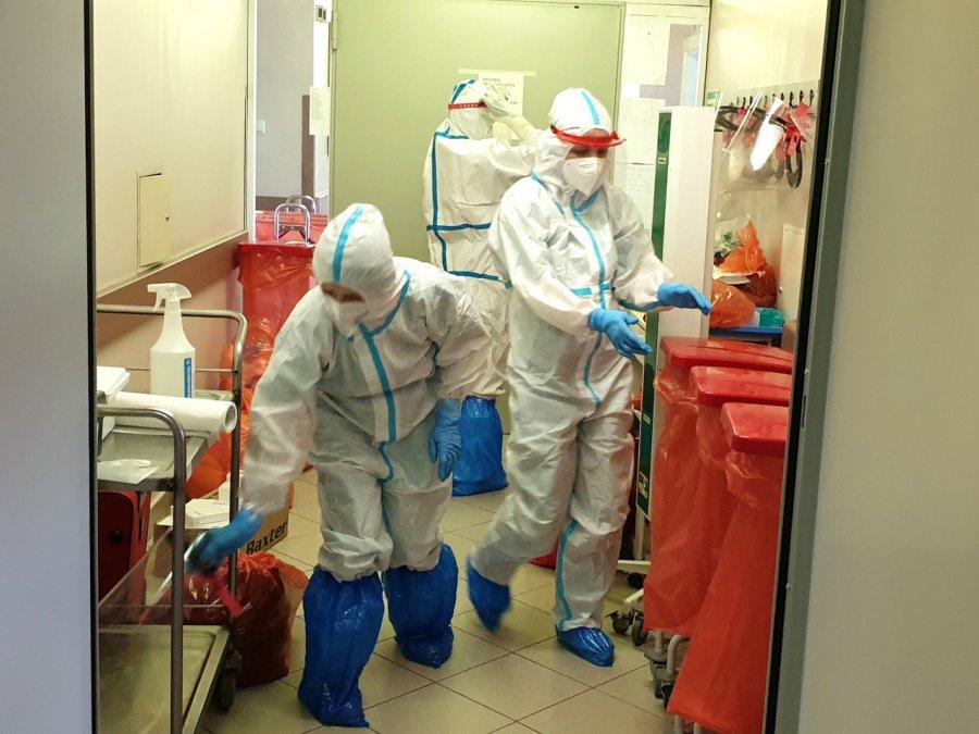 Od poniedziałku oddział covidowy w Chrzanowie będzie mniejszy