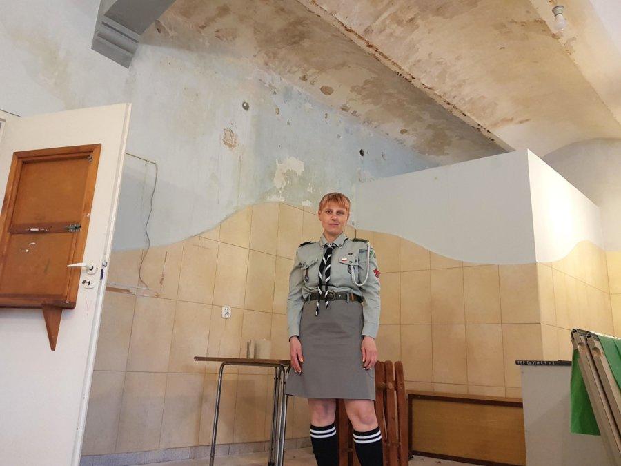 Harcerze z Trzebini proszą o pomoc w odnowieniu siedziby hufca