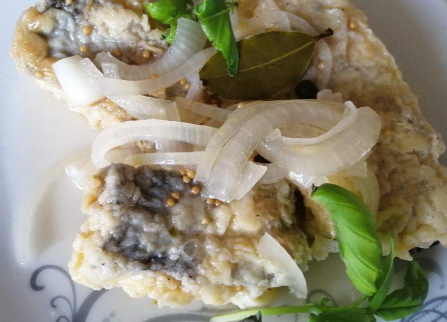 Opiekane filety rybne w zalewie octowej