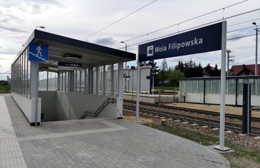 Przystanek kolejowy w Woli Filipowskiej. Zobaczcie, jak teraz wygląda (WIDEO, ZDJĘCIA)