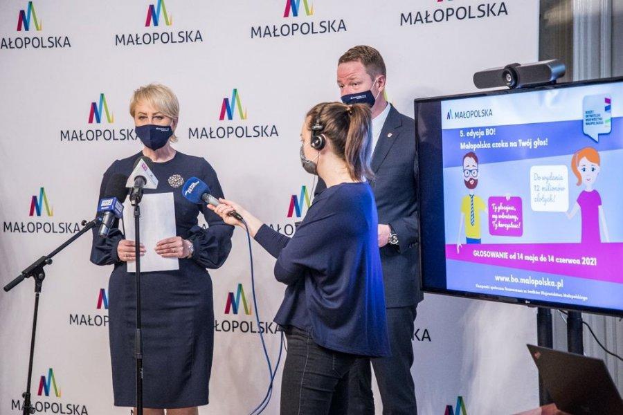 Rozpoczęło się głosowanie na propozycje zgłoszone do budżetu obywatelskiego Małopolski