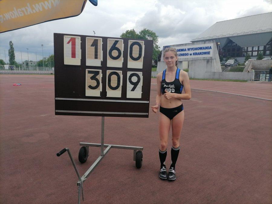 Lekkoatleci z Trzebini wrócili z tytułami mistrzów Krakowa