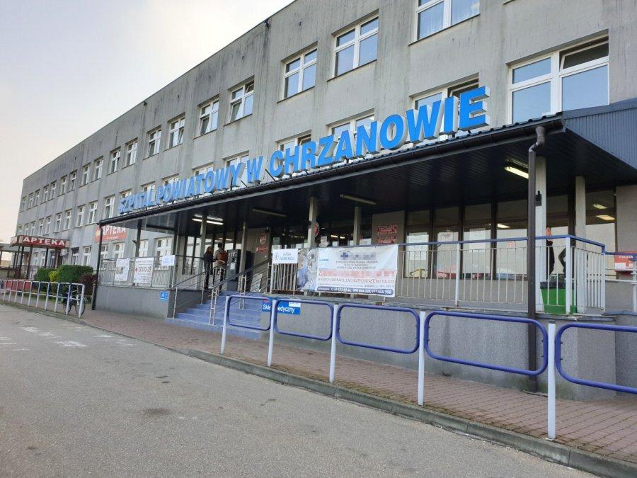 W szpitalu w Chrzanowie znów można odwiedzać niektórych chorych