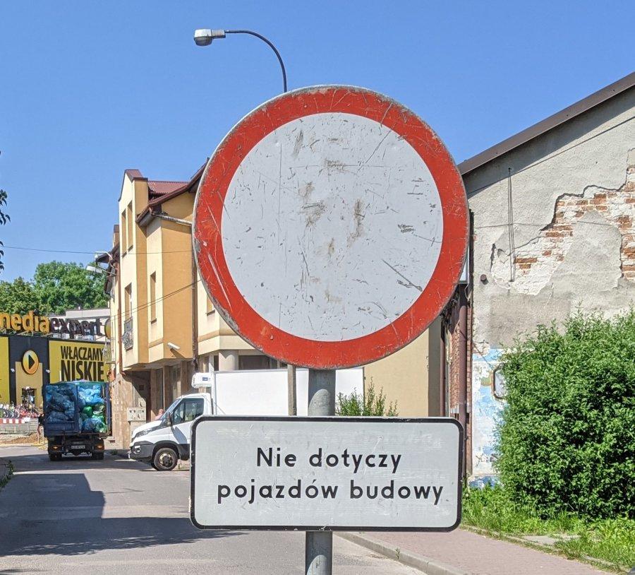Rano ulica zamknięta, po południu już otwarta. Następne utrudnienia na Krakowskiej za kilka dni