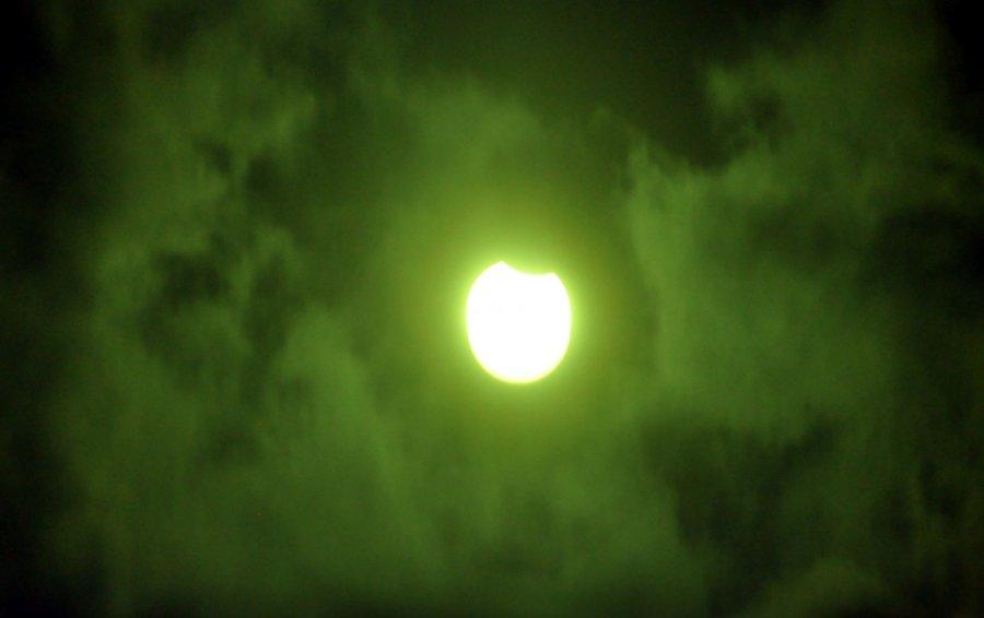 Zaćmienie Słońca na ziemi chrzanowskiej