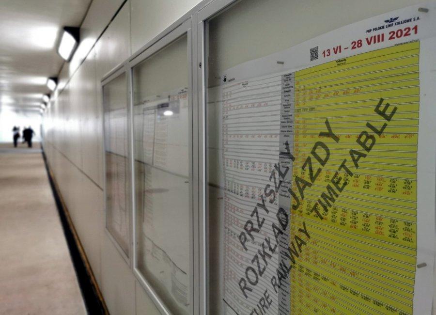 Uwaga pasażerowie. W niedzielę zmienia się rozkład jazdy pociągów