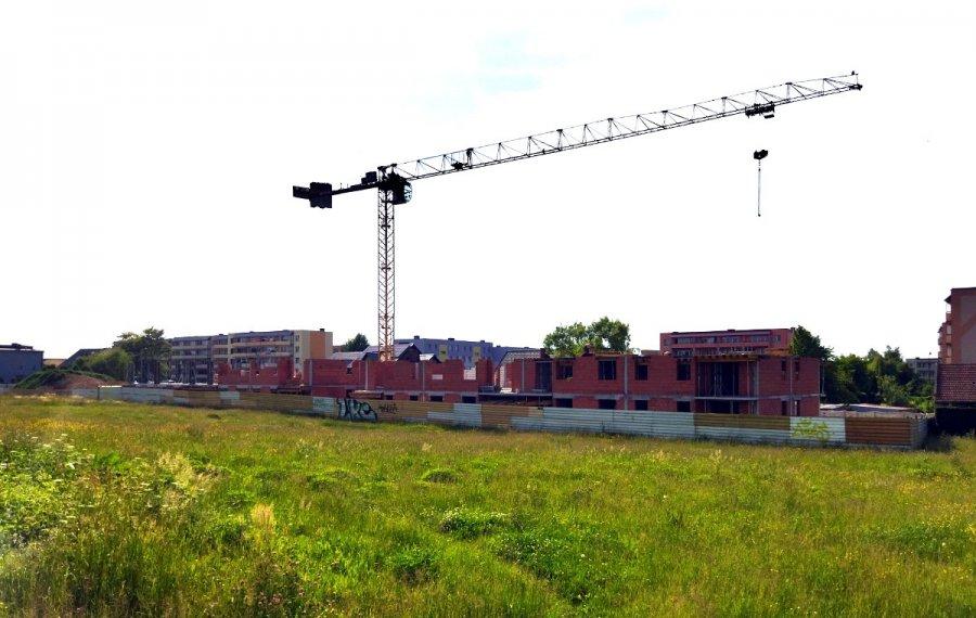 Nowe bloki rosną na osiedlu Południe w Chrzanowie