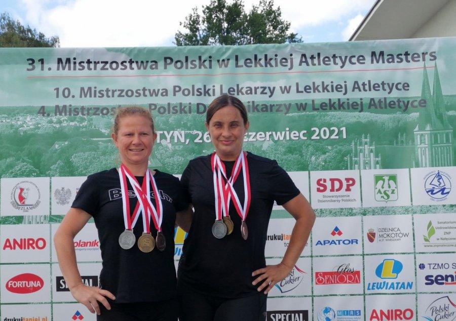 Trenerki z Trzebini przywiozły sześć medali z mistrzostw Polski