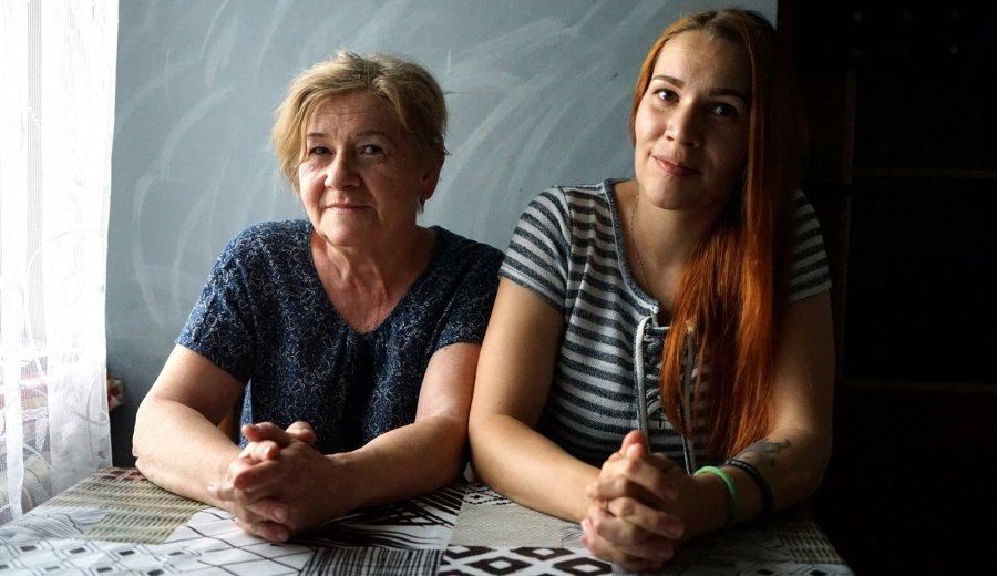 Mama i córka mają sentyment do dawnego szpitala