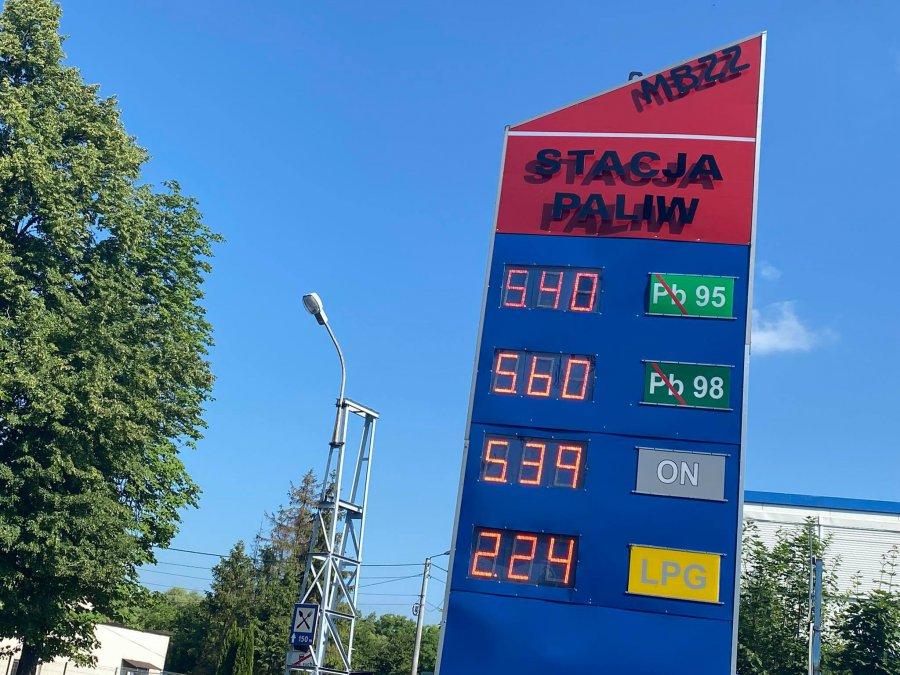 Ceny paliw szybują w górę. PSL apeluje o ich obniżkę