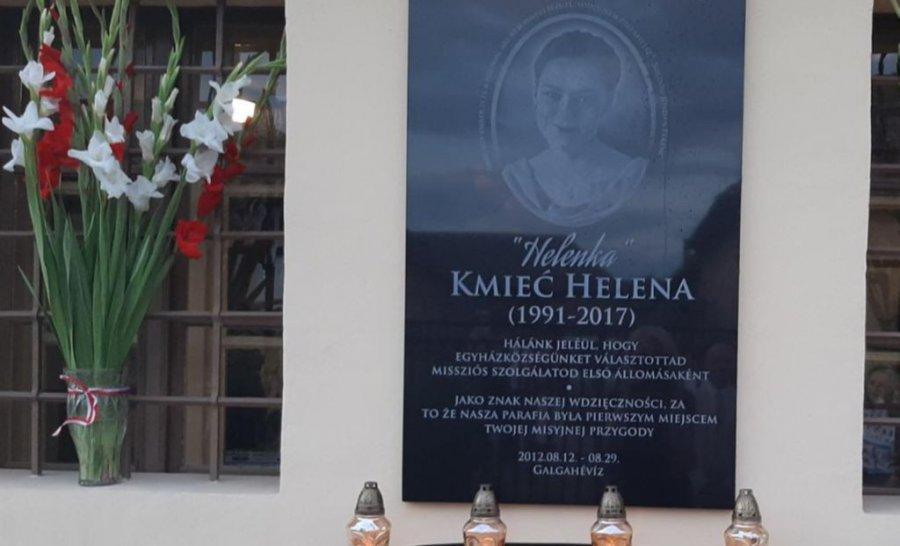 O Helenie Kmieć z Libiąża pamiętają na Węgrzech