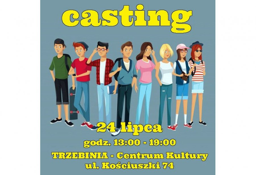 Szukają ludzi do nowego serialu. Organizują casting w Trzebini