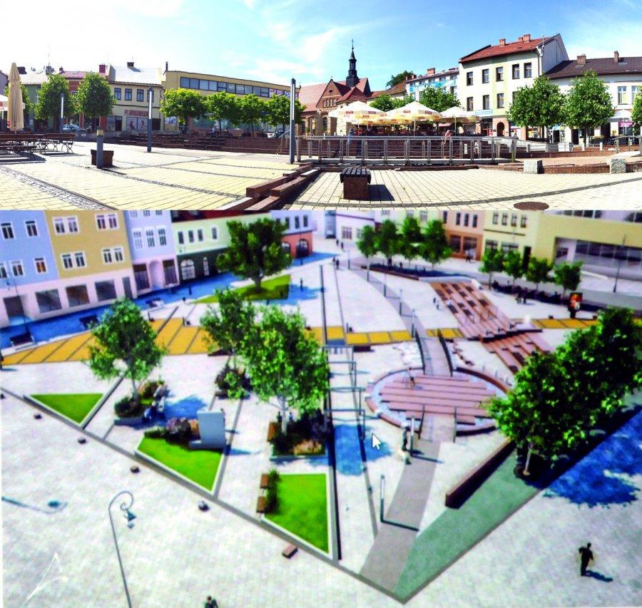 Przebudowa Rynku w Chrzanowie. Tylko dwie oferty i za wyższą cenę
