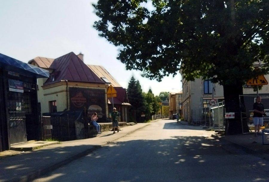 Zamknięta droga w centrum Chrzanowa z powodu budowy ronda