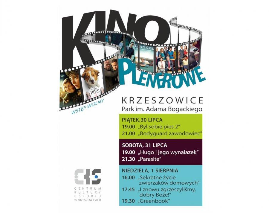 Weekend z plenerowym kinem w Krzeszowicach