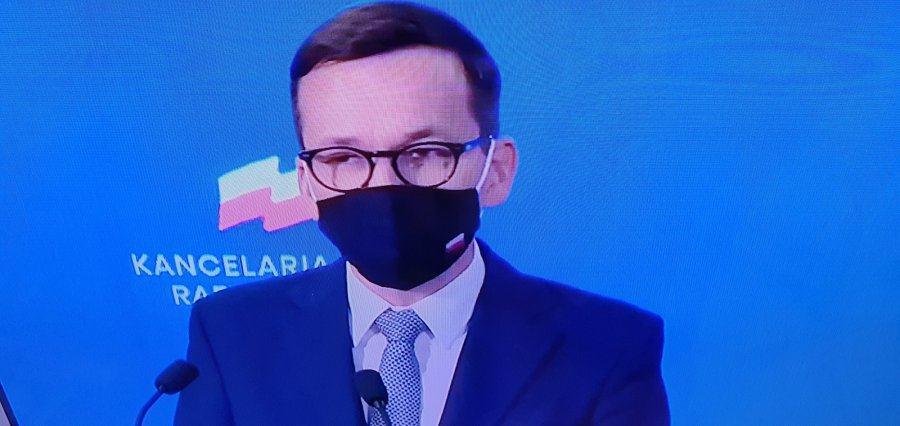 Bądźmy mądrzy przed szkodą - apeluje premier Mateusz Morawiecki w sprawie szczepień