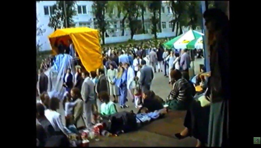 Tak wyglądała zabawa w Chrzanowie ponad 20 lat temu. Może ktoś się rozpozna?