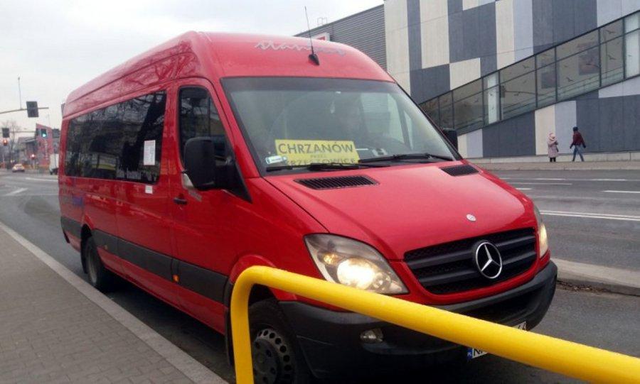 Zmiana rozkładu jazdy busów jeżdżących na linii Chrzanów – Kraków. Będzie więcej kursów