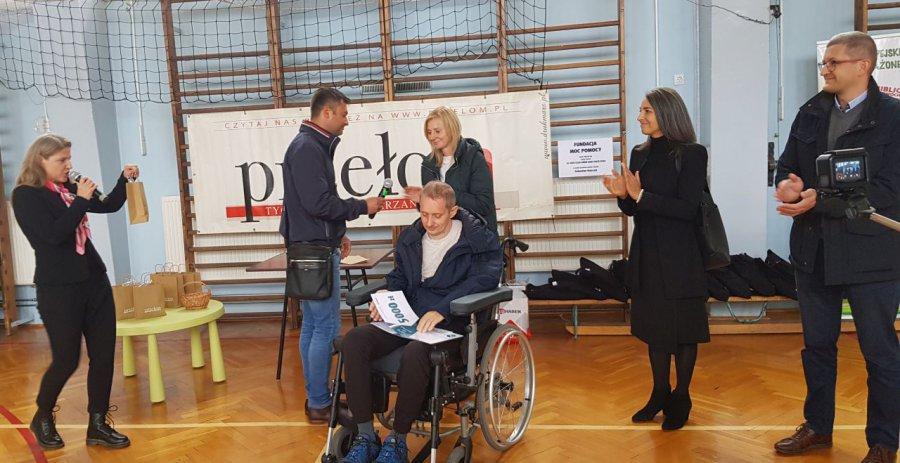 NASZA AKCJA. Sebastian Kulczyk dostał 15 tysięcy złotych na rehabilitację (WIDEO, ZDJĘCIA)