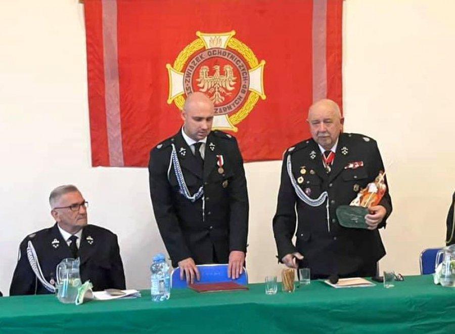 Zmiana warty u strażaków w Libiążu
