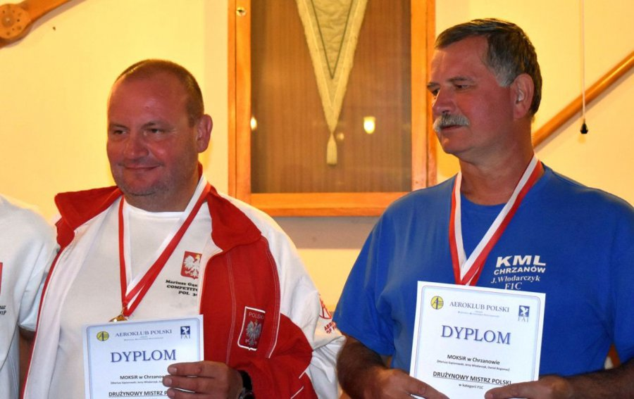 Dwóch modelarzy z Chrzanowa stanęło na podium mistrzostw kraju