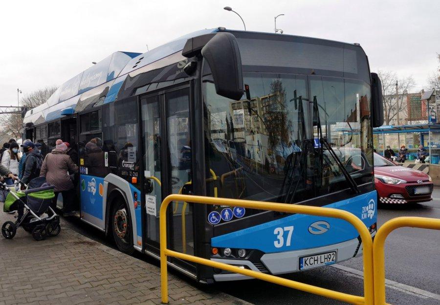 Podczas biegu w Libiążu autobusy ZKKM Chrzanów pojadą zmienioną trasą