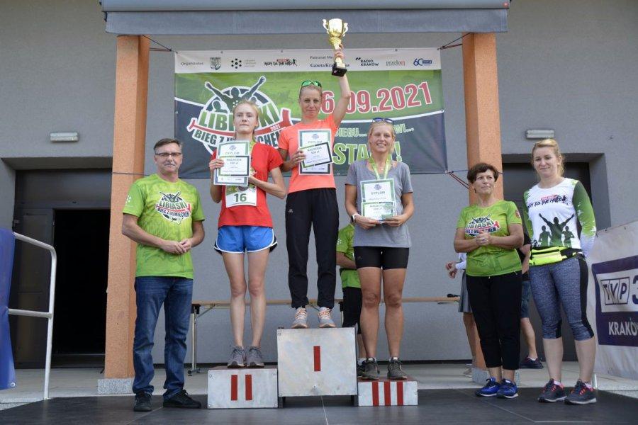 Najszybsi biegacze dostali w Libiążu 500 złotych nagrody