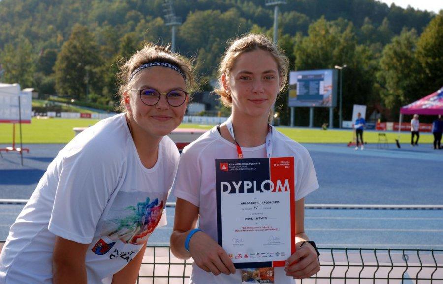 Lekkoatletka Trzebini czwarta w mistrzostwach Polski w skoku wzwyż